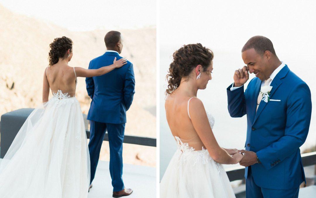 Ver a noiva antes da cerimónia. Dá azar?