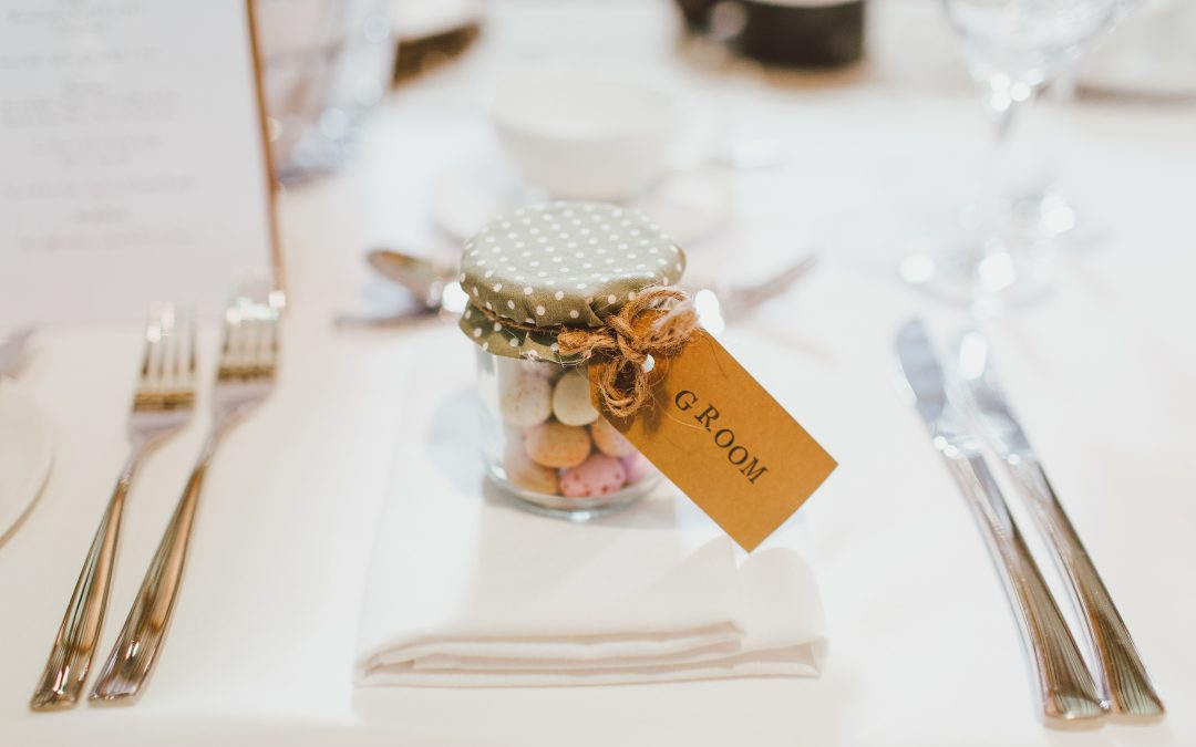 Lembranças de casamento sem complicações