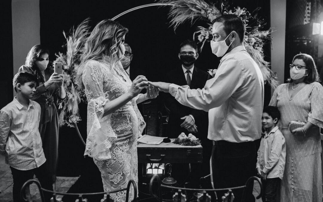 Casamento na rua do registo civil – Casamento no Covid
